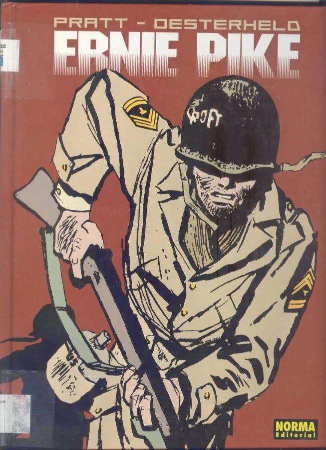 Ernie Pike – historieta escrita por por Héctor Oesterheld e ilustrada por Hugo Pratt – formato pdf  Ernie+Pike+01+Oesterheld+Pratt+Ed+Norma_001
