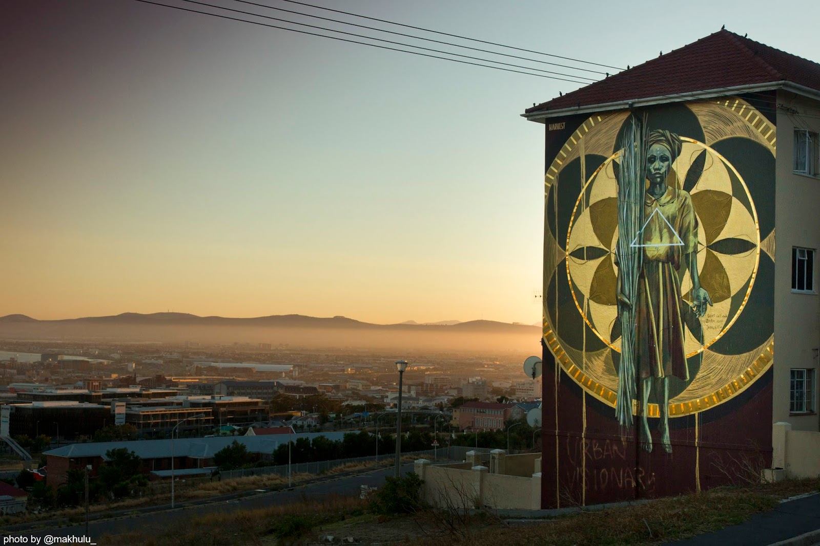 Design Indaba Trust, Faith47 and Thingking have teamed up to create a mural that seeks to create a community level change through the duality of art-based social impact.