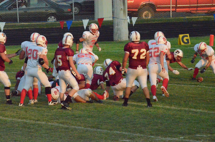#7 Fumbles a carry.
