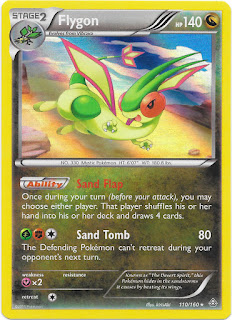 Flygon Primal Clash Pokemon Card