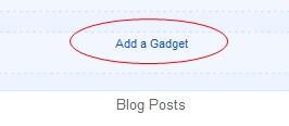 Free Farhan Simple Blogger Template