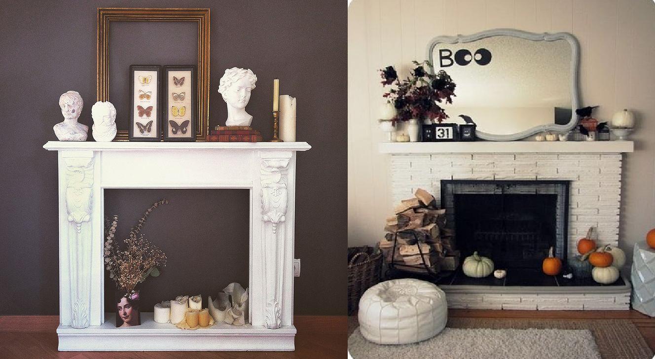 Chimeneas decorativas casas ideas - Hacer chimenea decorativa ...