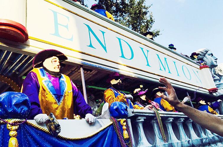 endymion mardi gras parade