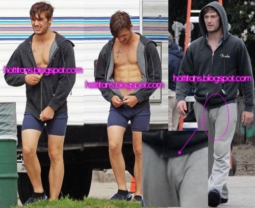 Hot Titans: Alex Pettyfer Bulge