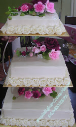 WEDDING CAKES 3 TIER
