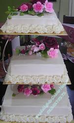 WEDDING CAKES 3 TIER