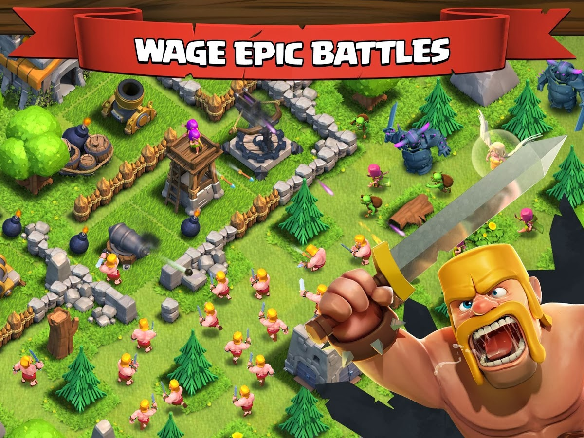 Clash of Clans v5.113.2 apk Download