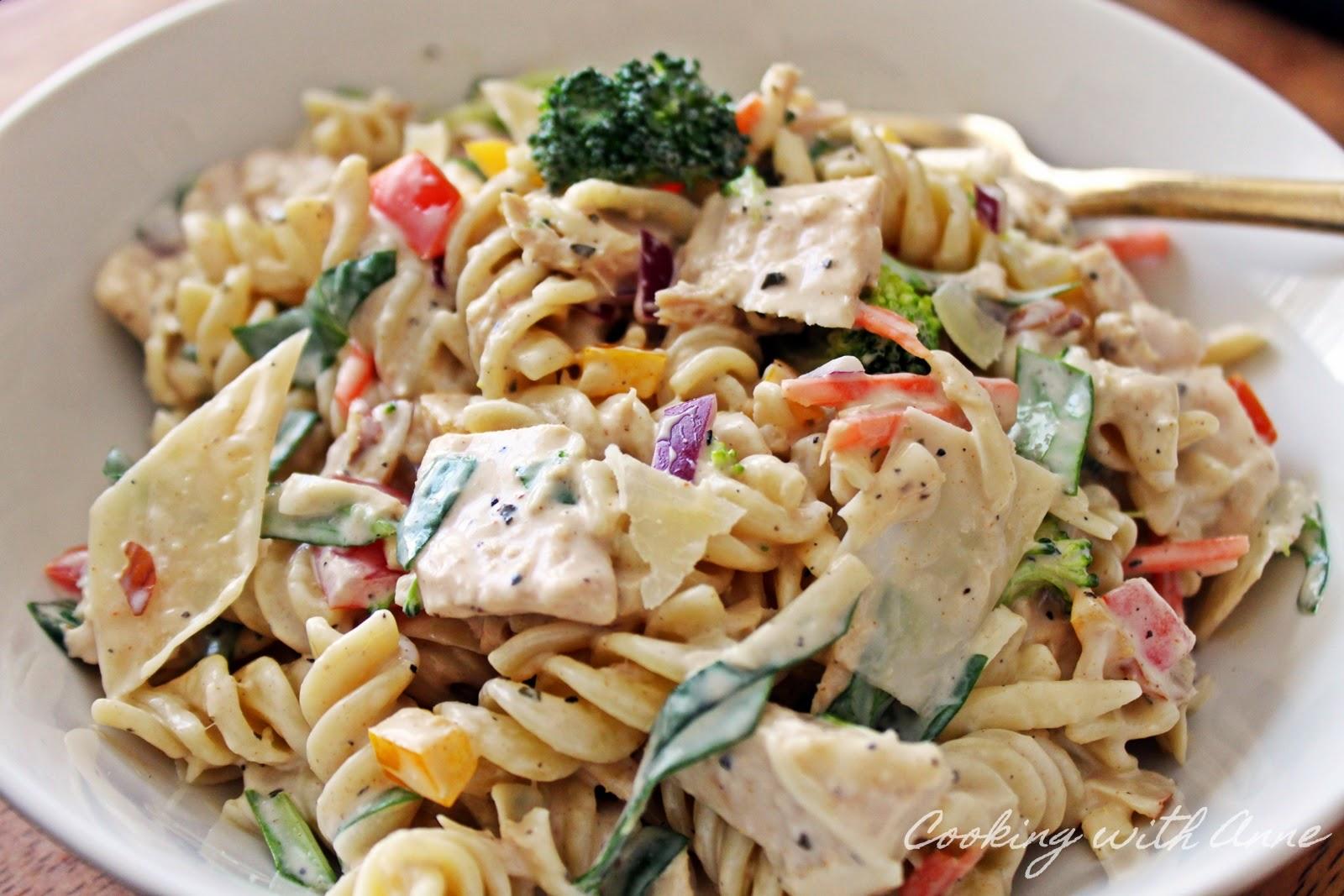 how to make the best tuna pasta salad