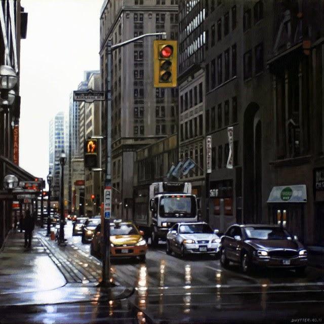 Городские пейзажи. Daniel Uytterhaeghe