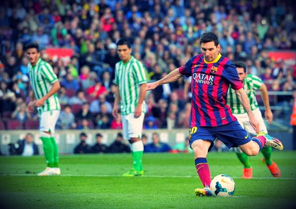 Barca Images GIF - Lionel Messi's Second Penalty against ...