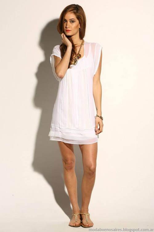 Moda verano 2014 Sathya vestidos 2014.