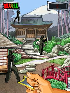 Ninja Strike Symbian S60v3 Mobile Phone Game