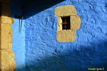 Luz y azul