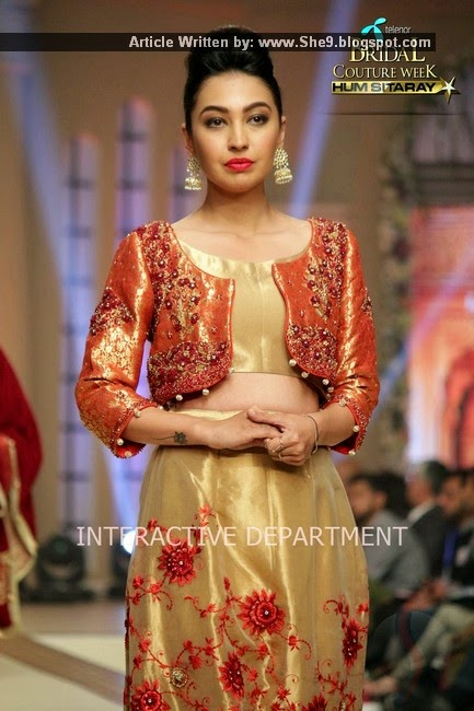 Telenor Bridal Couture Week 2014