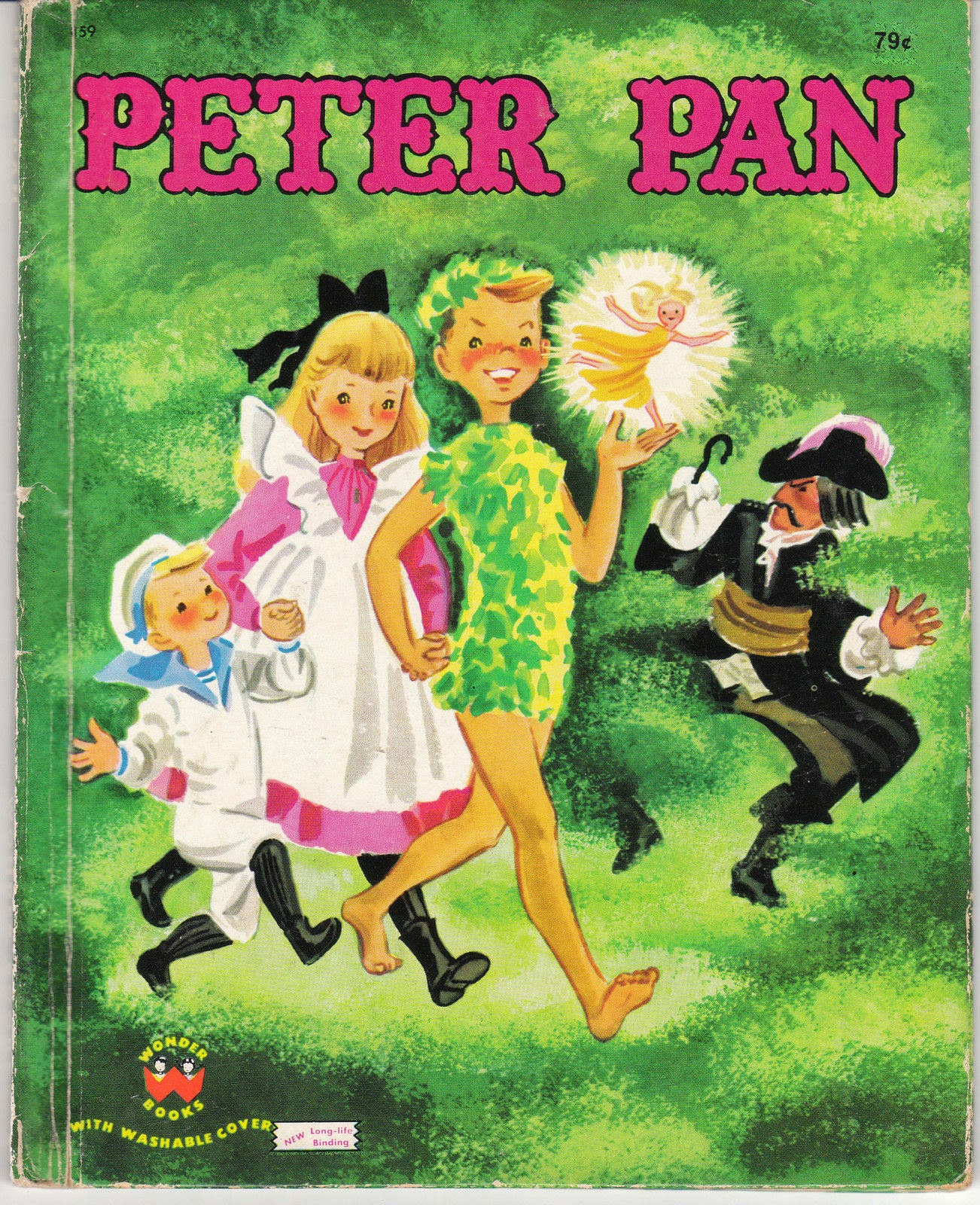 View from the Birdhouse Peter Pan  On TV and In Vintage Books