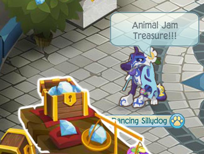 Animal Jam Treasure