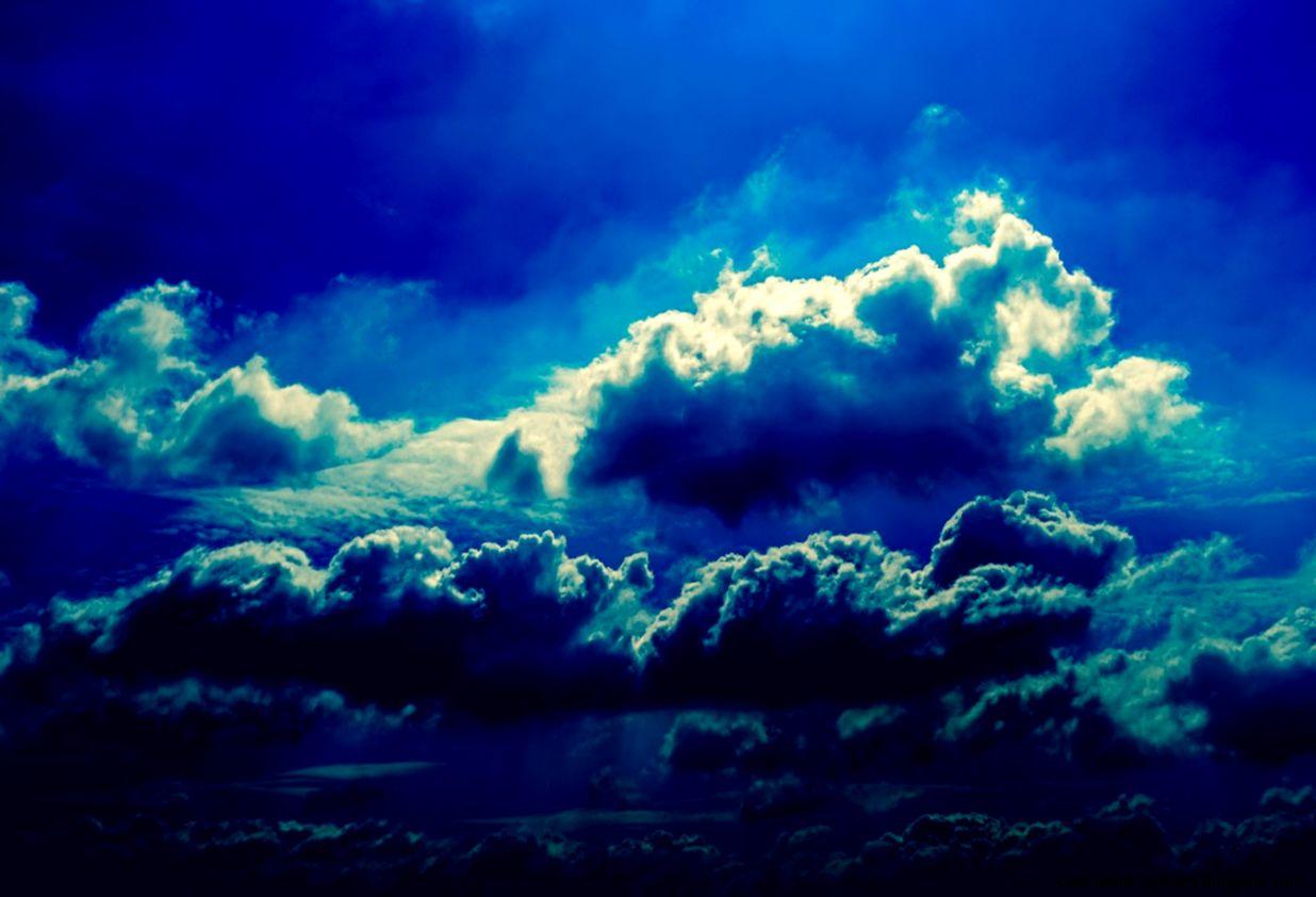 Blue Night Sky Wallpaper   WallpaperSafari