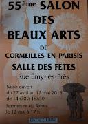 55 ème salon des beaux arts