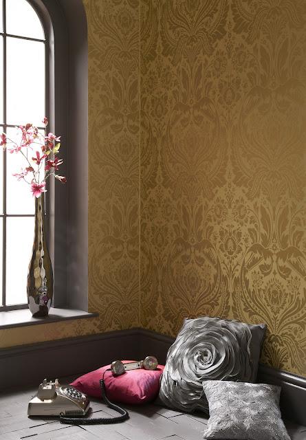 Funky friday blog bond is back stijlvol behang van graham brown - Stijlvol behang ontwerpen ...