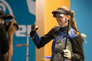 Adela Sýkorová - República Tcheca - Carabina 3 Posições - Copa do Mundo ISSF de Carabina e Pistola 2013 - Tiro Esportivo
