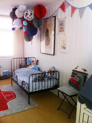 Old new pink and blue - Het kiezen van kleuren voor een kamer ...