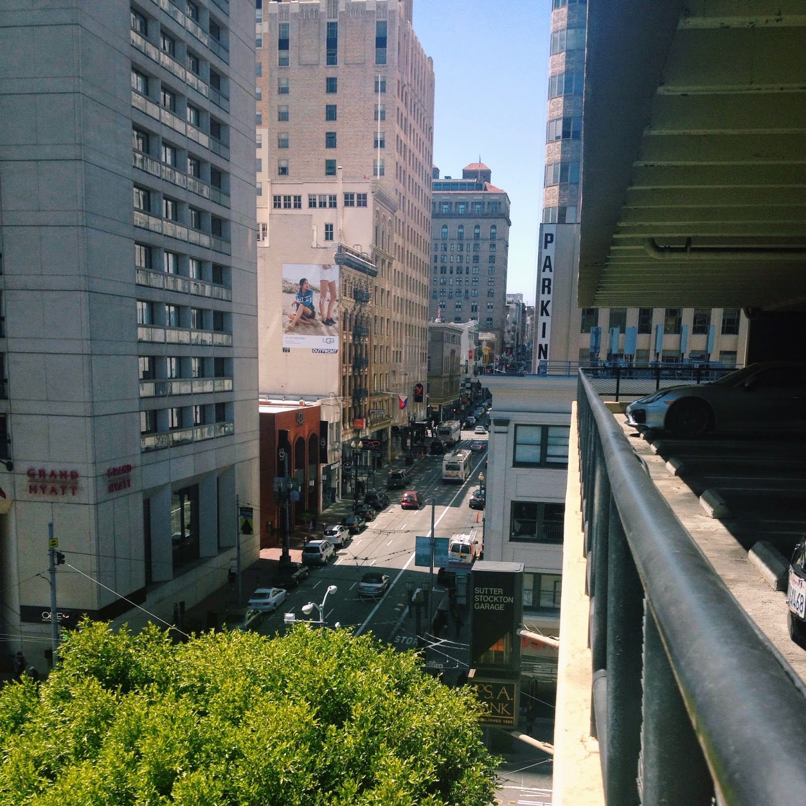 San Francisco Street View from above