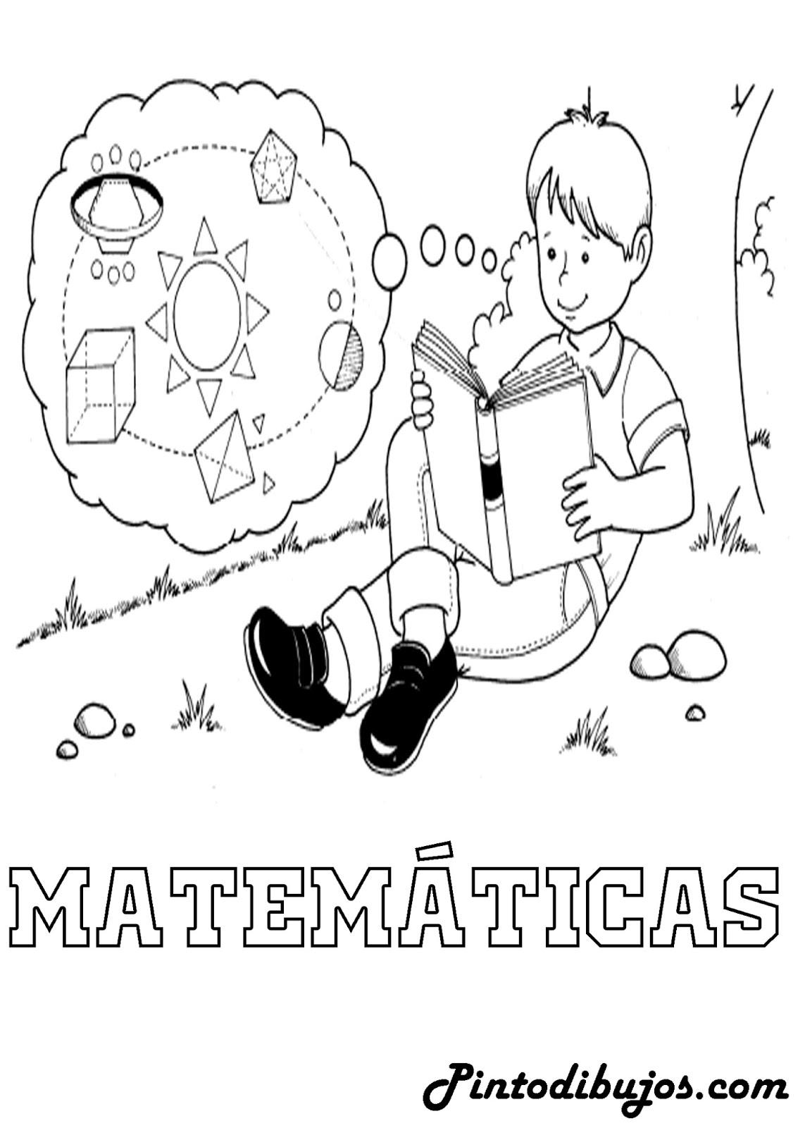 Pinto Dibujos: Matematicas para colorear