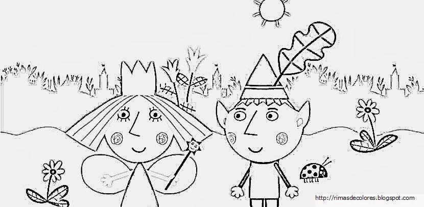 Infantileo: El pequeño reino de Ben y Holly