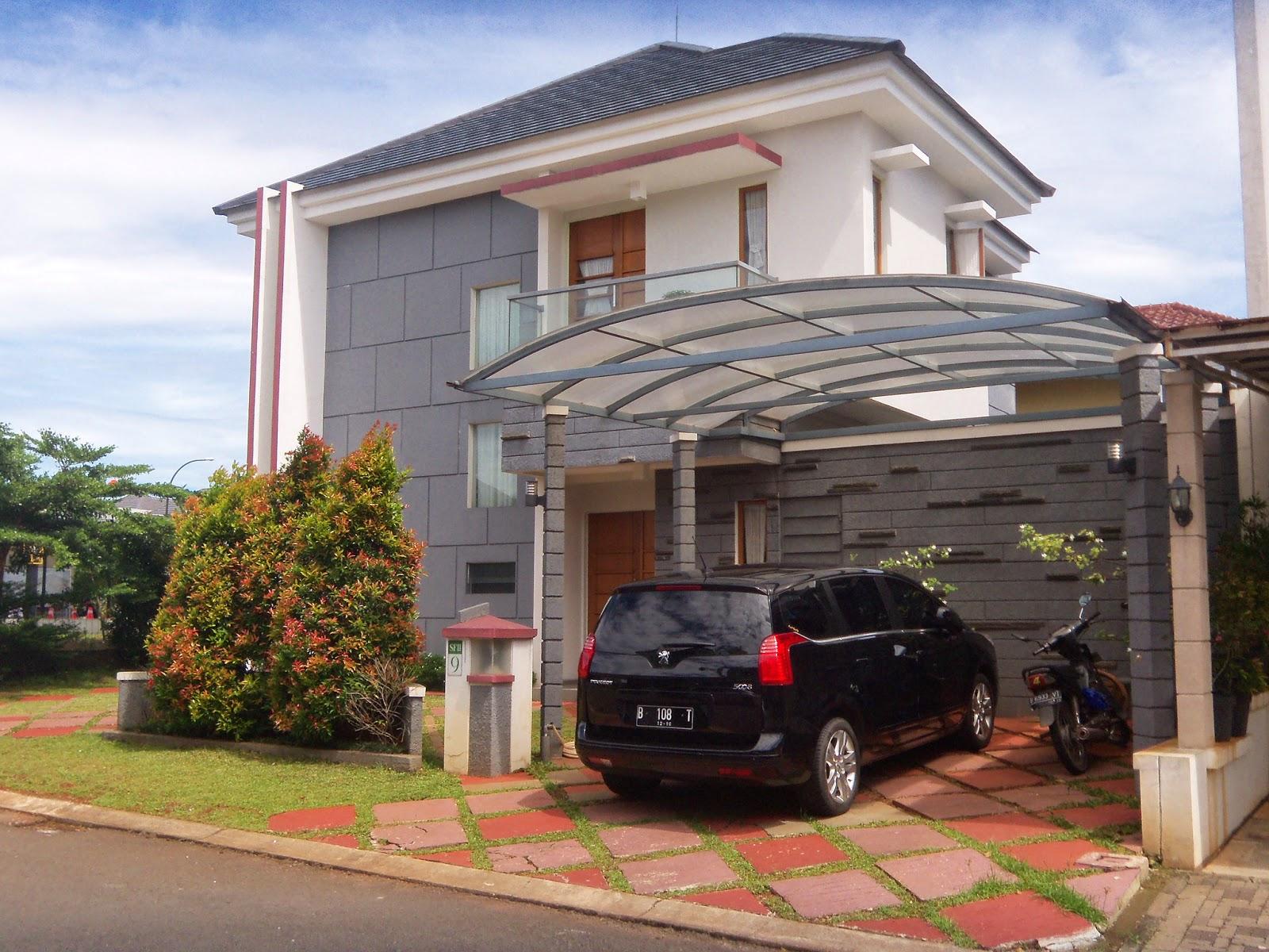 rumah mewah minimalis 2 lantai