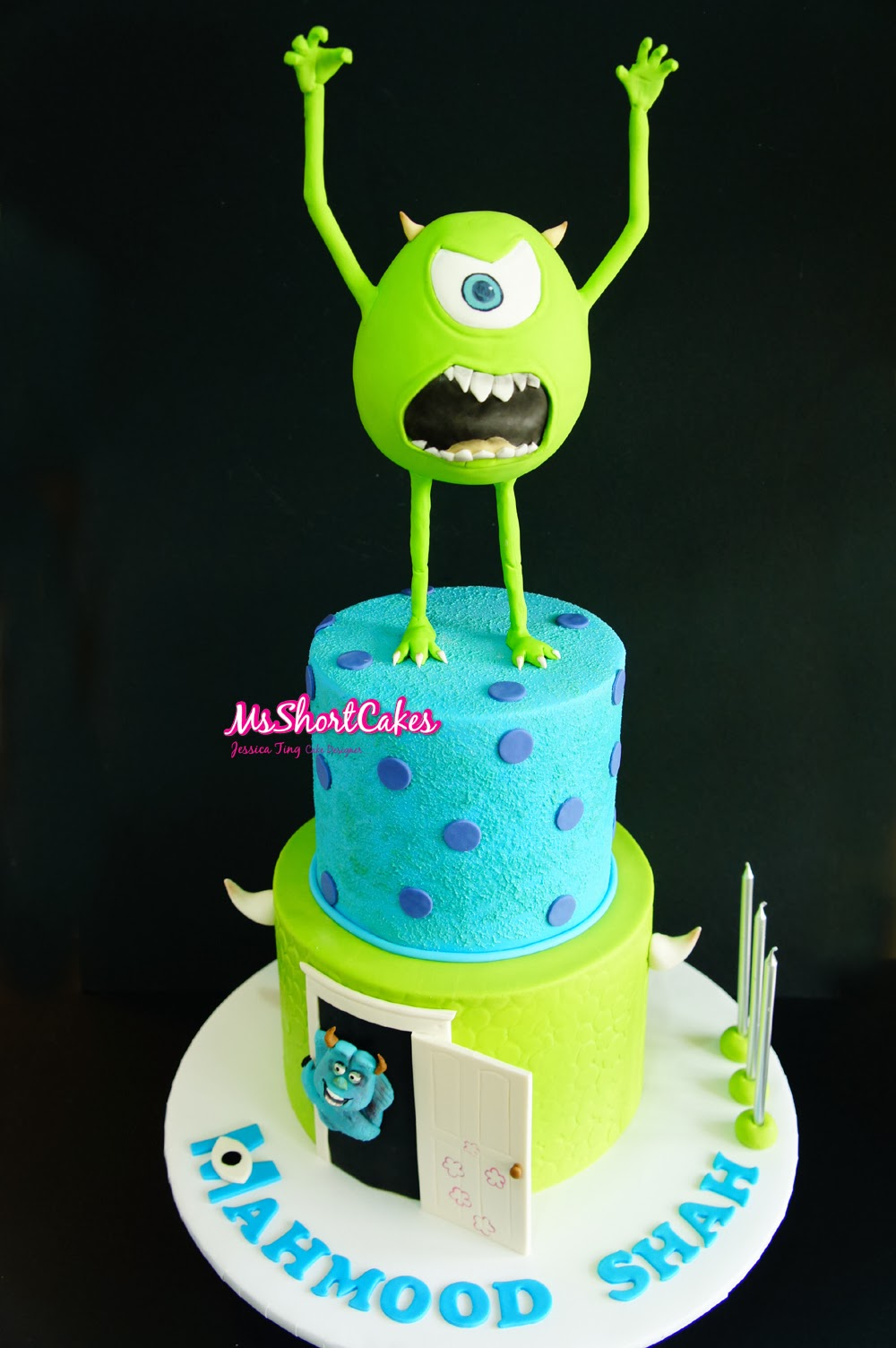monster inc baby shower cake monsters inc mike