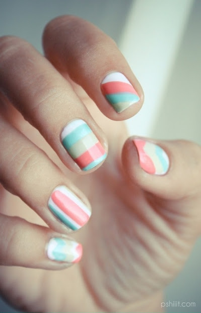 spring nail art design and colors