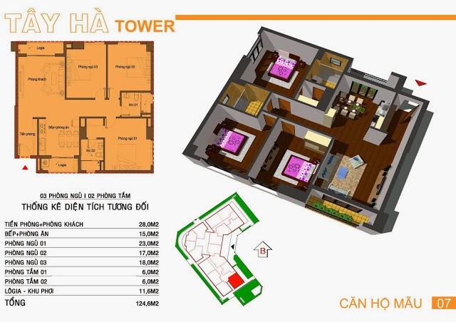 Chung Cư Tây Hà Tower, chung cu tay ha tower, 12
