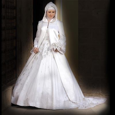 Bridal Dress Designs with Hijab 2012 | Bridal dresses