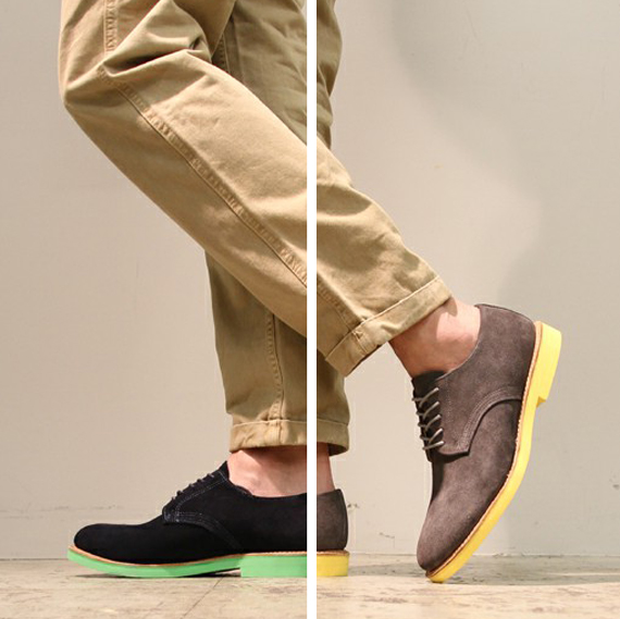 The X-Stylez: [Colored Sole] Statement Shoes for Men