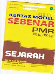 Koleksi Soalan PMR terbaru untuk 2012