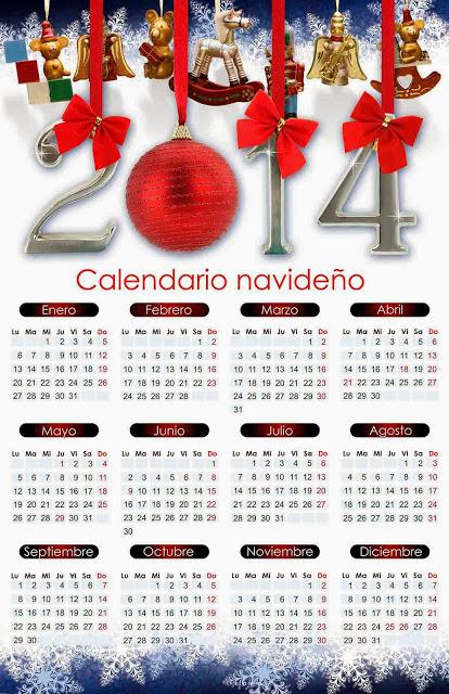 Calendario Lunar 2014, Calendario 2014 para imprimir, Descargar ...
