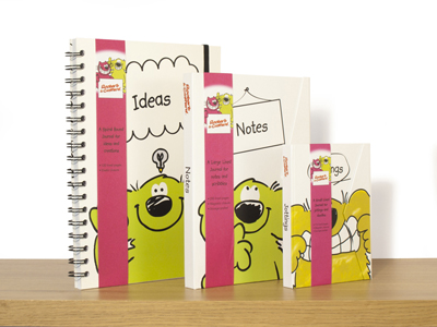 roobarb and custard stationery gifts