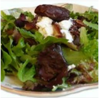 Salad-Recipe-Date-Goat-Cheese-and-Mesclun-salad