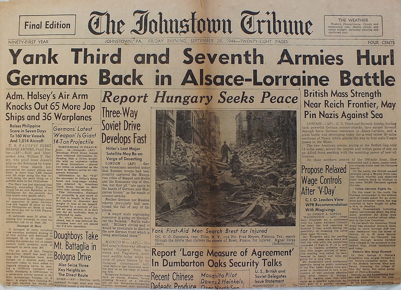 JUNE 16, 1944 YANK MAGAZINE: MARSHALL TITO IN YUGOSLAVIA, CHERYL WALKER PINUP +
