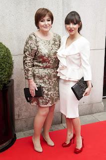 Roxanne Pallett  Tesco Mum of the year awards 3 March 2013