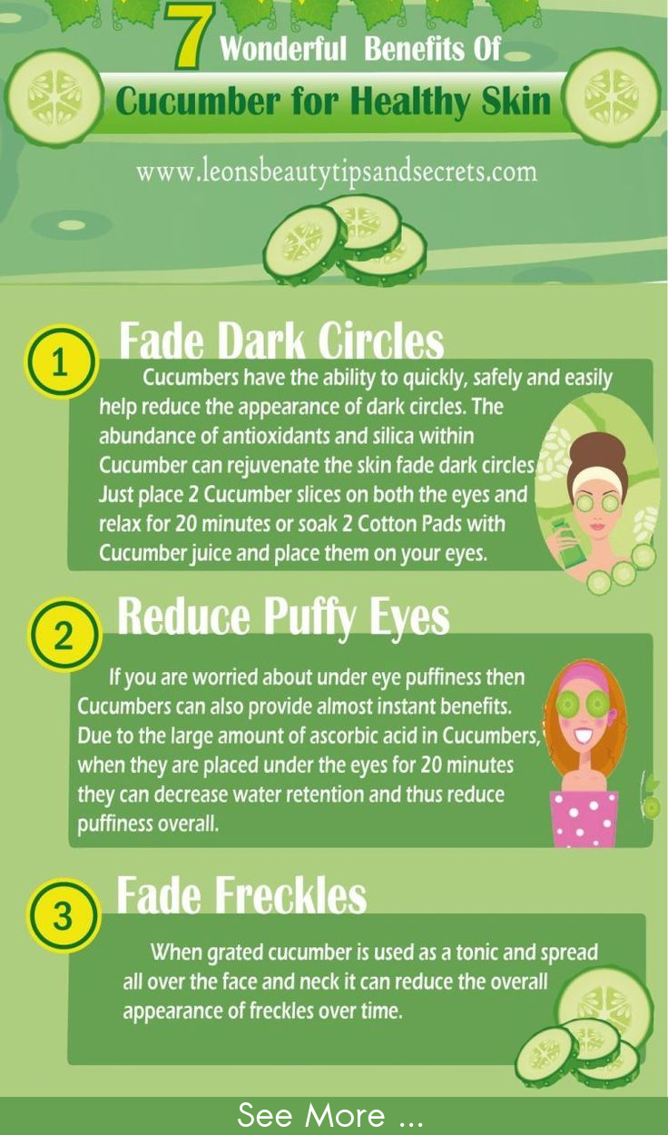 7 Wonderful Benefits of Cucumber For Healthy Skin