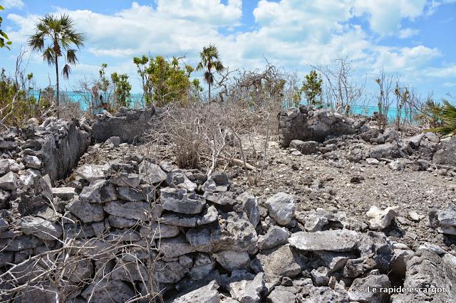 Davis Plantation ruins Warderick Wells