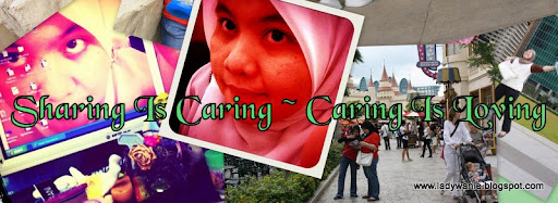 Sharing Is Caring ~ Caring Is Loving