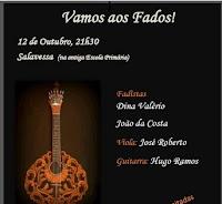 SALAVESSA (NISA): NOITE DE FADOS