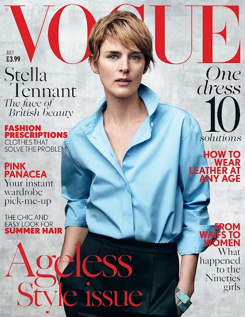 Fashion Model @ Stella Tennant - Vogue UK, July 2015
