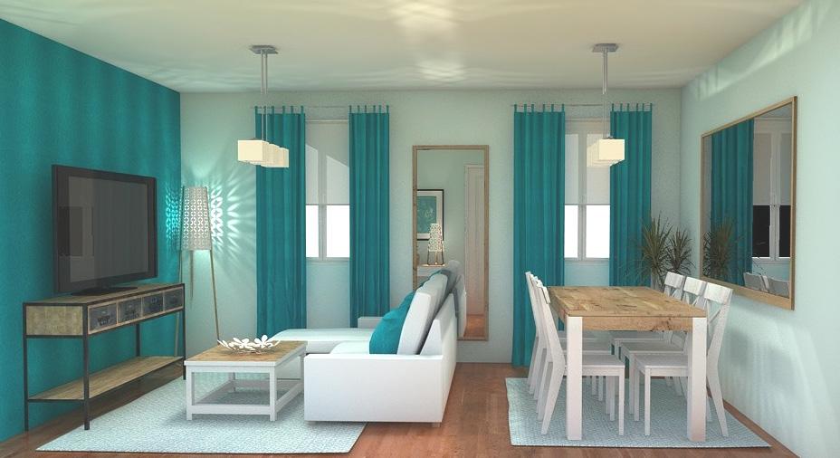 Arantxa amor decoración.: un pequeño salón comedor para una gran ...