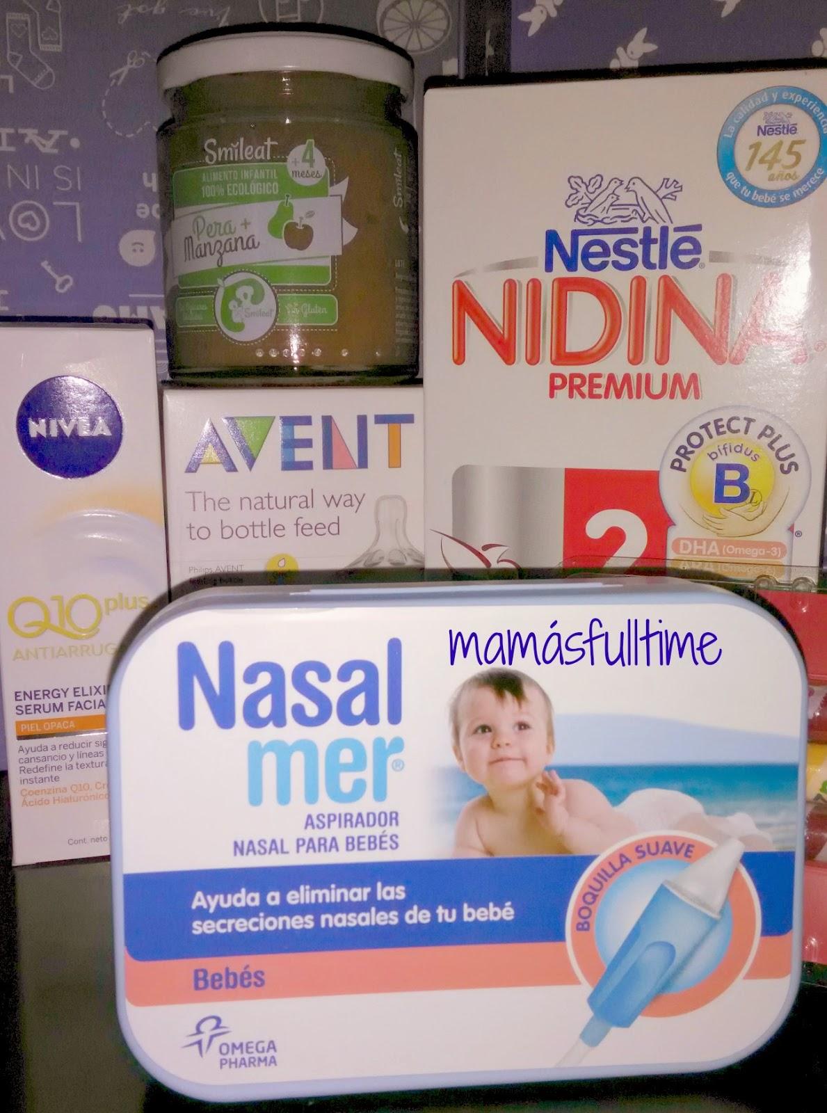 Cajas productos bebés nonabox