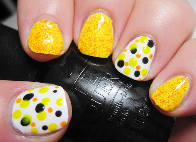 Salon Perfect Jolt with Cult Nails Tempest and dotticure; topcoat