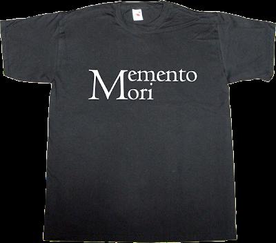 latin brilliant sentence t-shirt ephemeral-t-shirts
