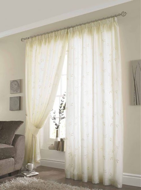 New Modern Voile Curtains Design Ideas 2014